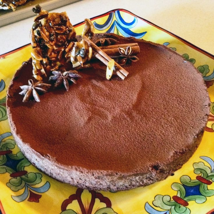 Chocolate Tart With Star Anise And Cinnamon
