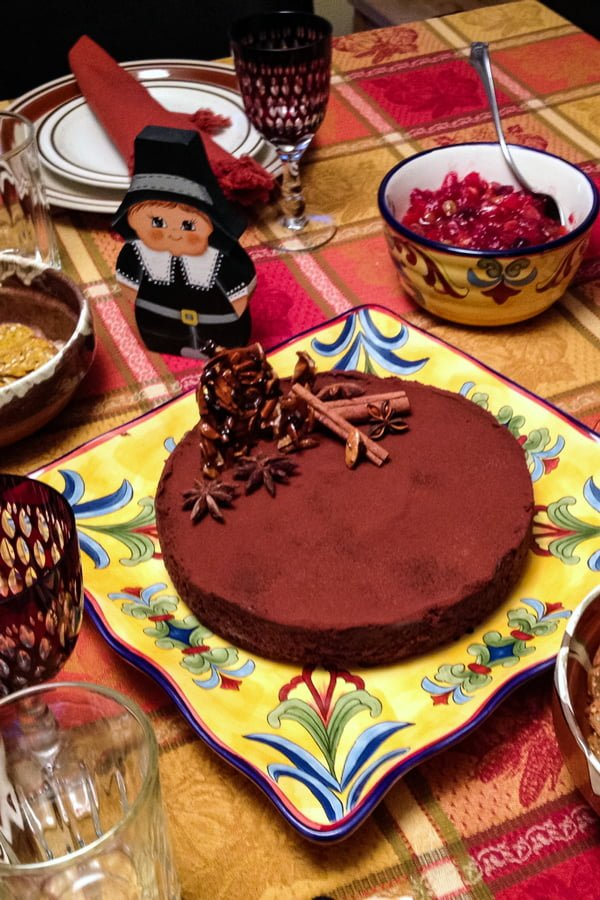 CHOCOLATE TART WITH STAR ANISE AND CINNAMON2