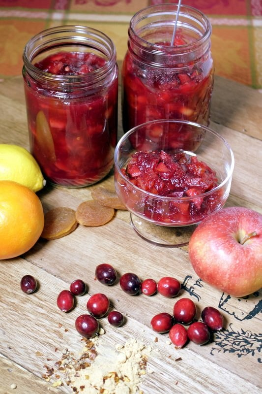 Cranberry Chutney with Apples – The Bossy Kitchen-Cooking ...