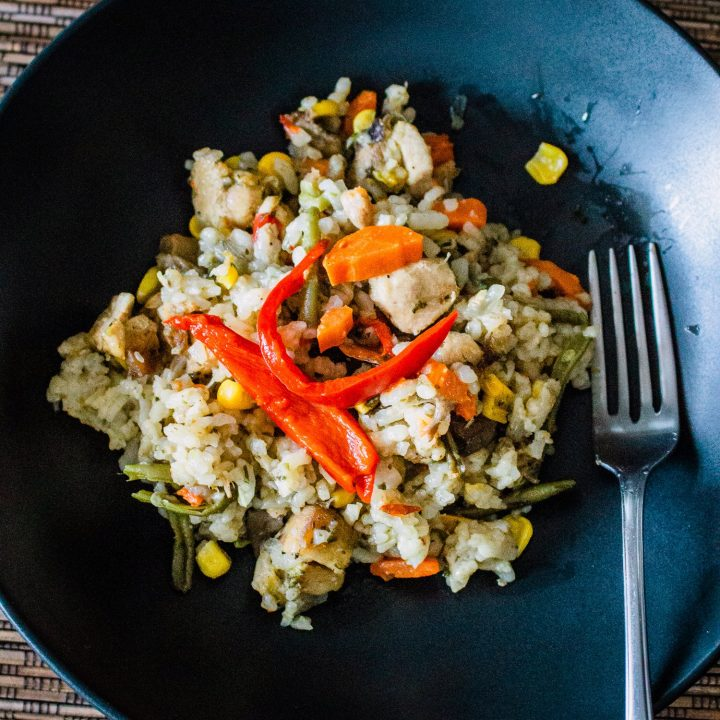 Rice Pilaf with Pork and Vegetables1 1