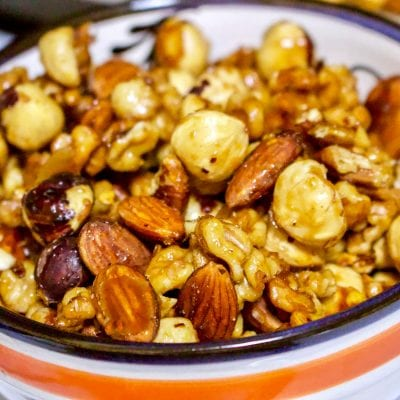 Spicy Maple Nut Mix Recipe