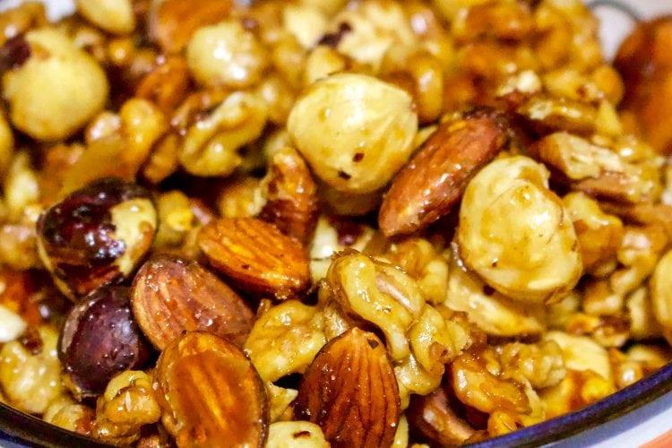 Spicy Maple Nut Mix Recipe