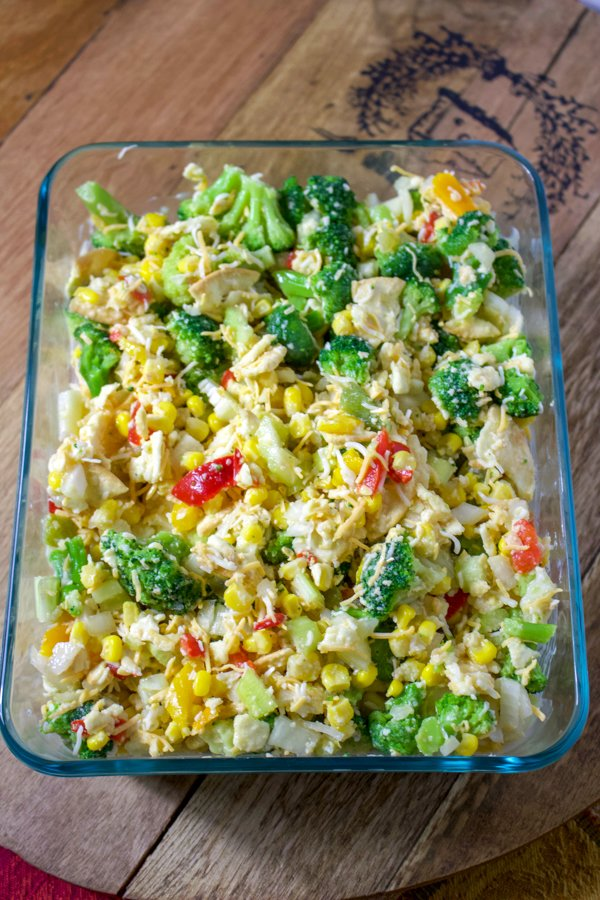 Scalloped Corn with Vegetables 5