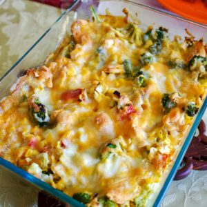 Scalloped Corn with Vegetables 8