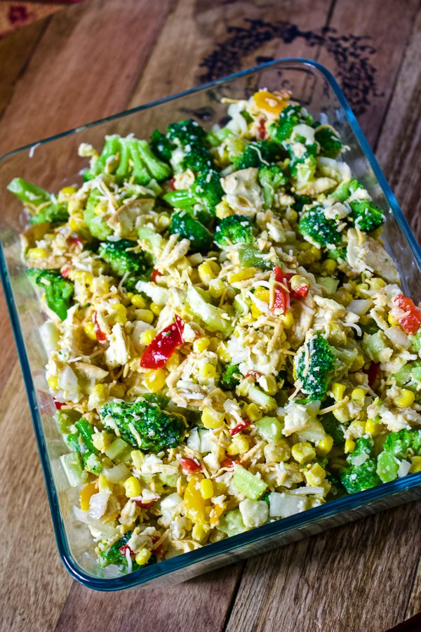 Scalloped Corn with Vegetables11