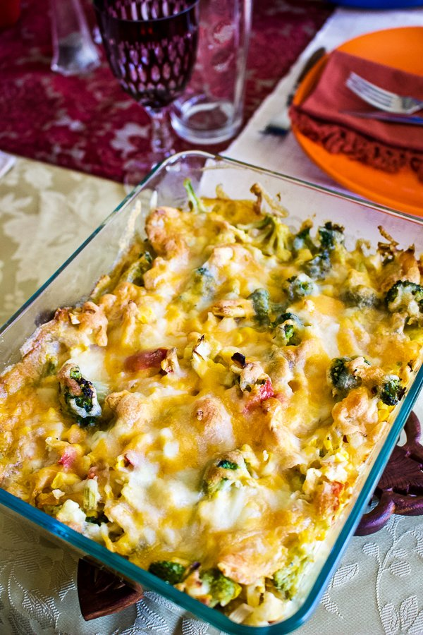 Scalloped Corn with Vegetables33