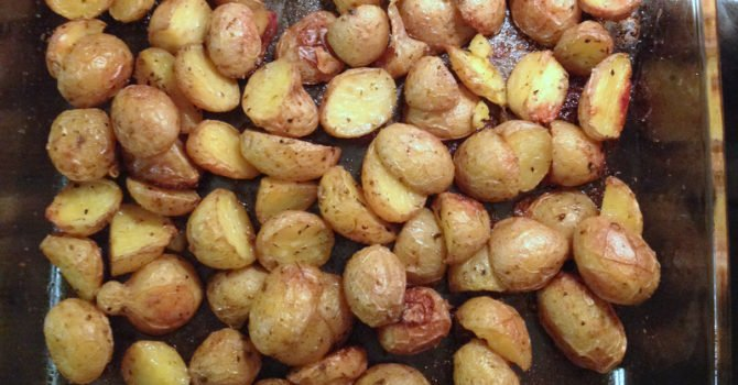 Simple Roasted Potatoes2