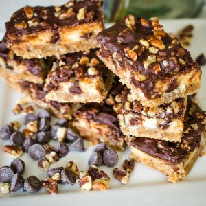 Austrian Chocolate Cream Cheese Bars