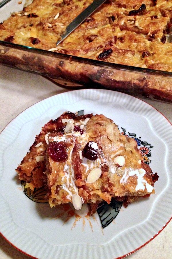 Authentic Mexican Capirotada Bread Pudding 1