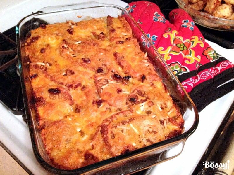 Authentic Mexican Capirotada- Bread Pudding