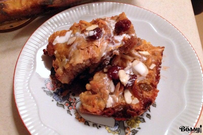 Authentic Mexican Capirotada  Bread Pudding1