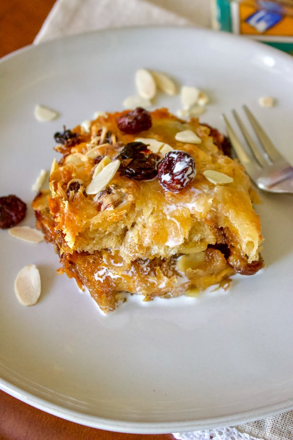 Authentic Mexican Capirotada- Bread Pudding- featured picture