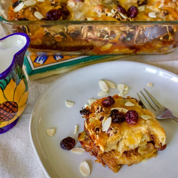 Recipe for stale bread- Authentic Mexican Capirotada- Bread Pudding