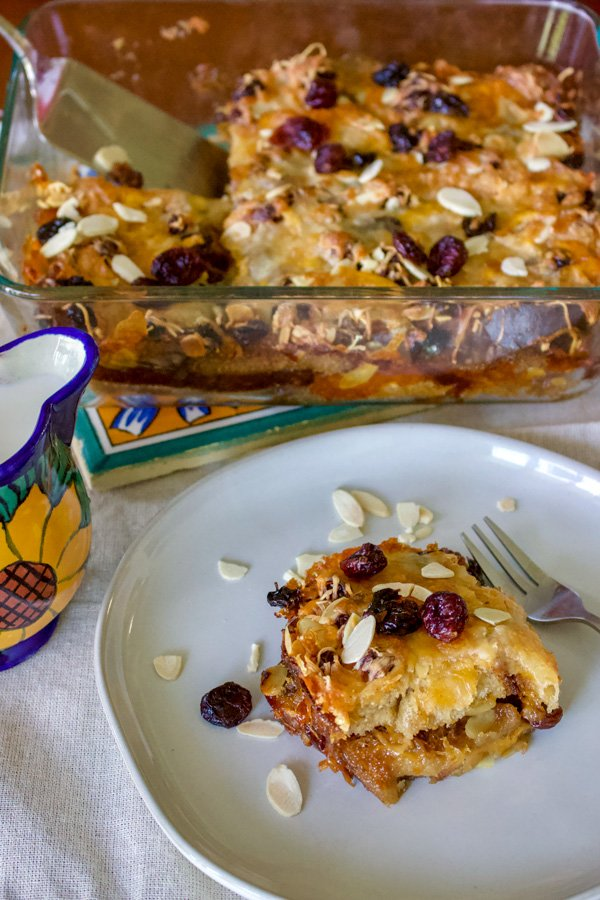 Authentic Mexican Capirotada- Bread Pudding