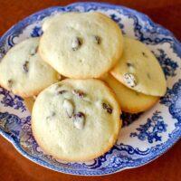 Rum Raisins Cookies Recipe
