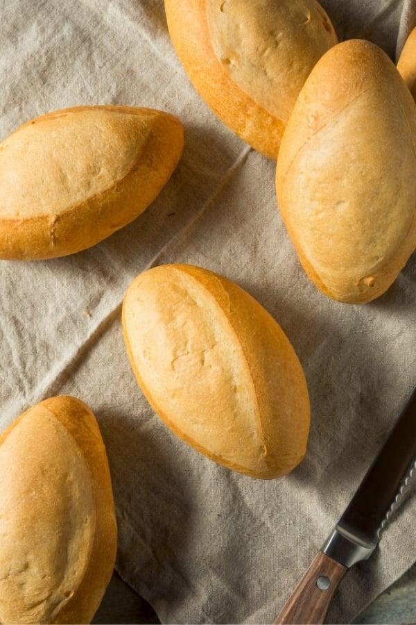 bolillos Mexican bread