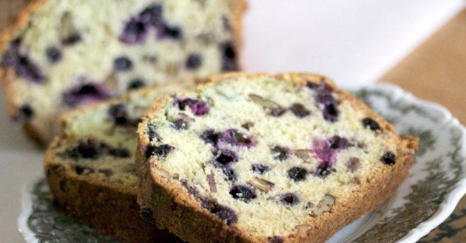Best Blueberry Orange Bread With Walnuts