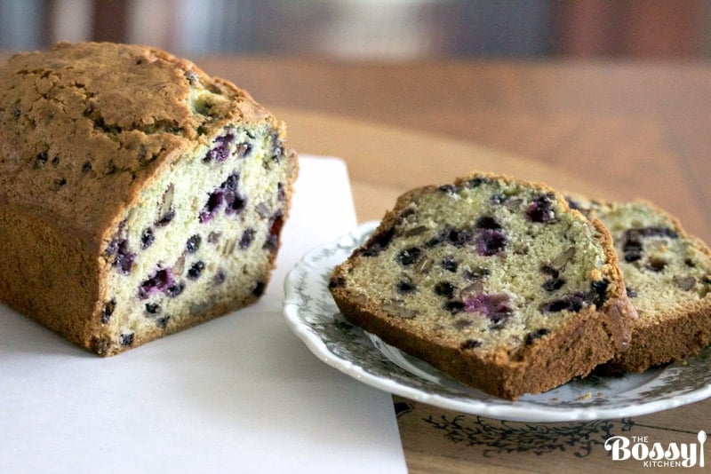Best Blueberry Orange Bread With Walnuts – The Bossy ...