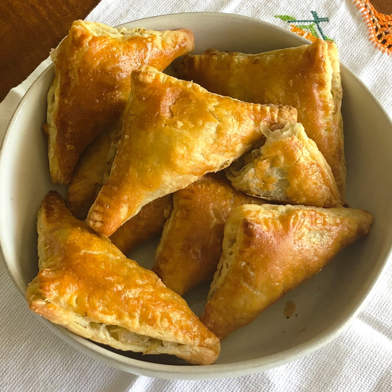 Cabbage Puff Pastries Triangles33