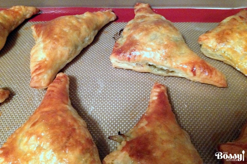 Cabbage Puff Pastries Triangles4