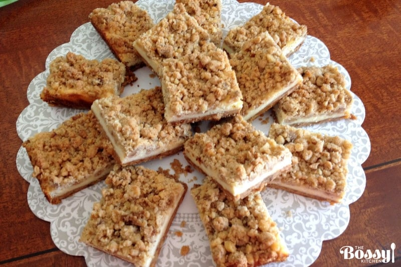 Cheesecake Squares Recipe