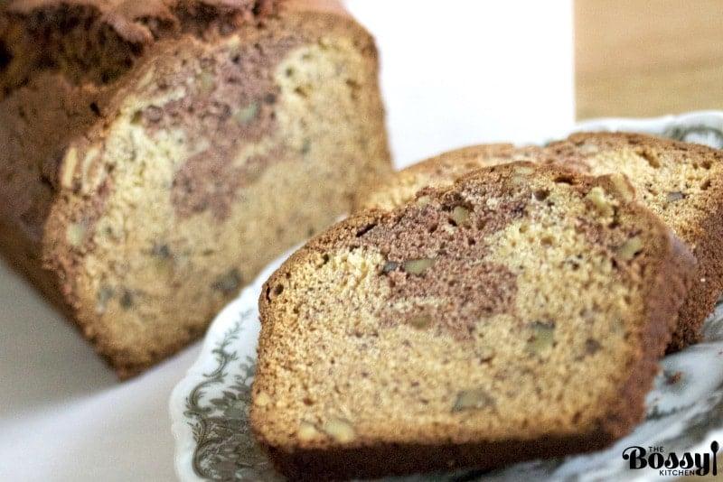 Cocoa Walnuts Banana Bread Recipe