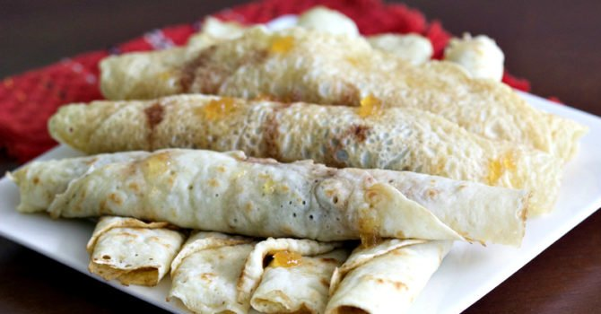 Easy Crepes With Jam Recipe