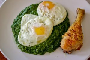 Easy Creamy Spinach
