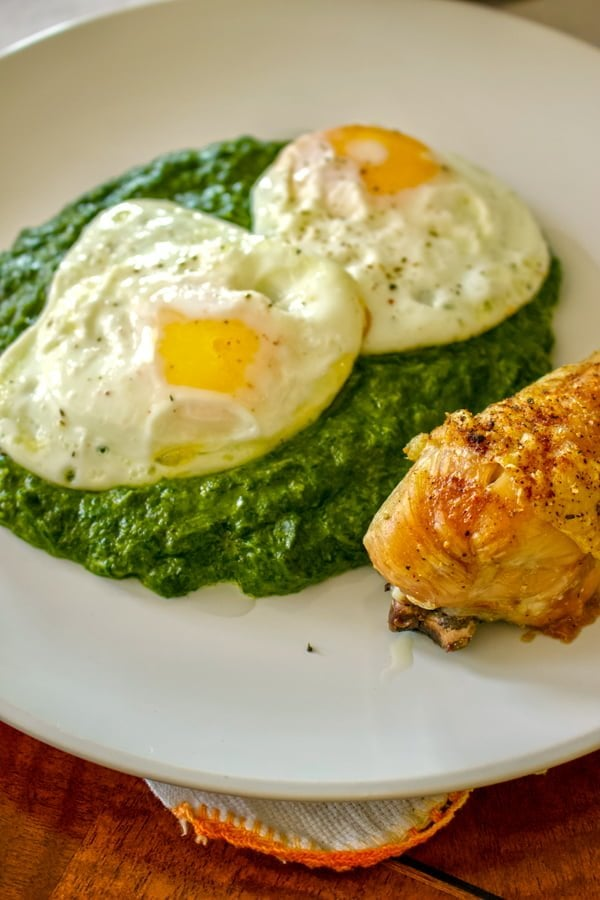 Easy Creamy Spinach4