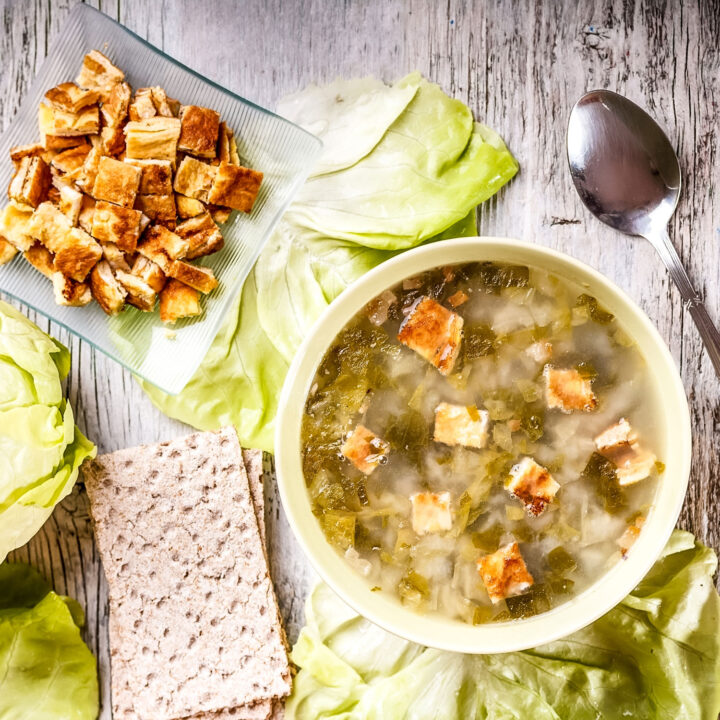 Summer Lettuce Soup featured picture0