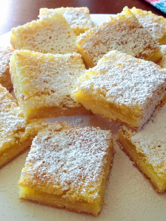 Super Easy Lemon Bars0