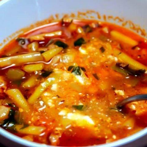 Transylvanian Bacon Green Beans Soup 3