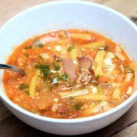 Transylvanian Bacon Green Beans Soup8