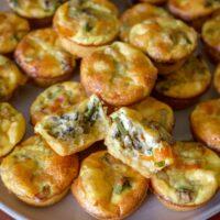 Vegetarian Mini Quiche Recipe 2