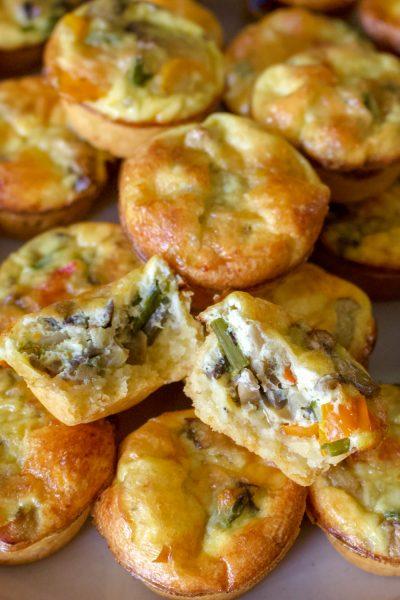 Vegetarian Mini Quiche Recipe