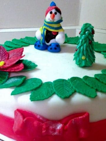 WHITE CAKE WITH ORANGE OR LEMON VANILLA BUTTERCREAM
