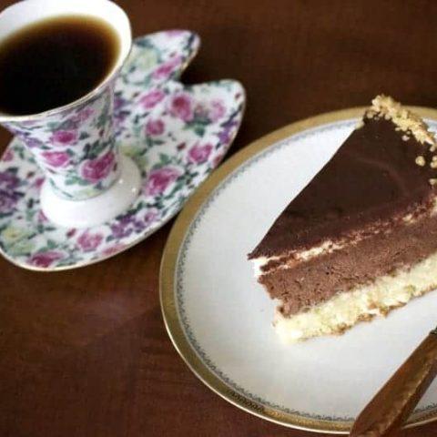 Walnut Chocolate Rum Cake