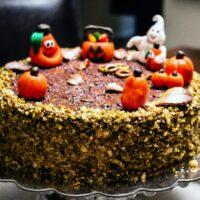 Walnut Chocolate Rum Cake22