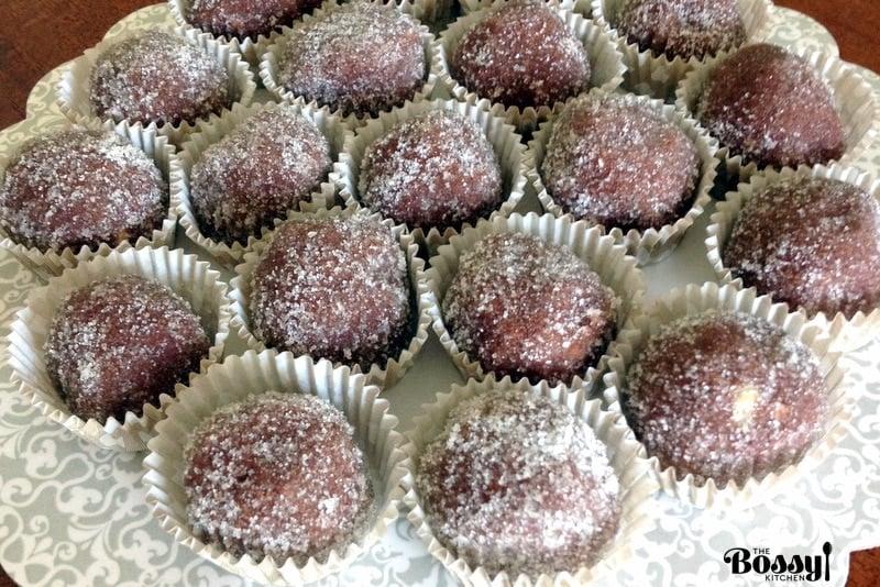 Walnuts Cocoa Rum Balls Recipe