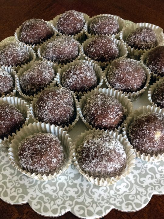 Walnuts Cocoa Rum Balls Recipe0
