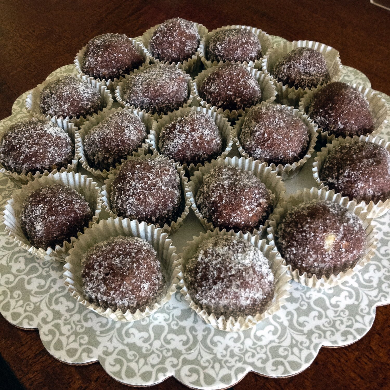 This classic rum balls recipe can be made in no time and is perfect for the holidays.