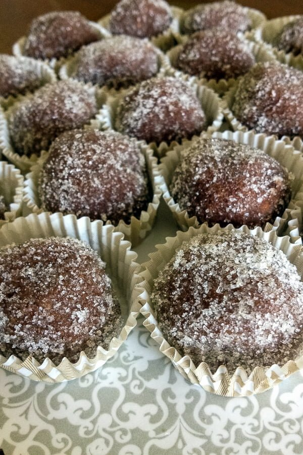 Thisclassic rum balls recipecan be made in no time and is perfect for the holidays.