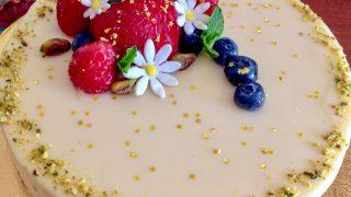 White Chocolate Hazelnuts Dacquoise Cake 2