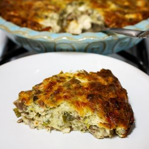 Cheesy Chicken And Mushroom Pie Recipe0