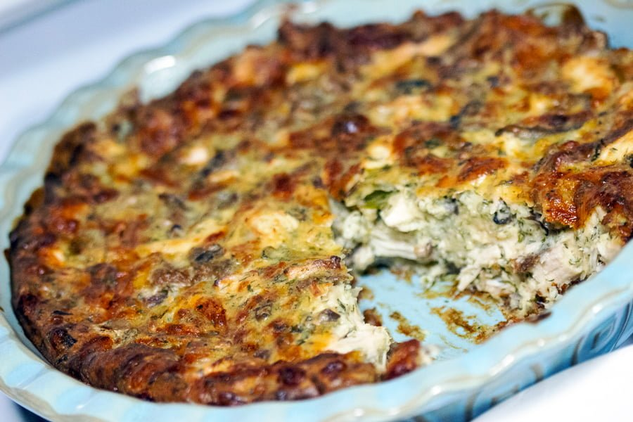 Cheesy Chicken And Mushroom Pie Recipe is a great option to use left over chicken or turkey. Perfect with a simple green salad.