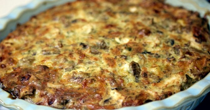 Cheesy Chicken And Mushroom Pie Recipe