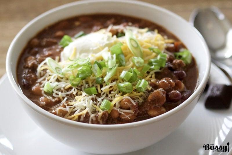 Chocolate Chipotle Chili Soup3