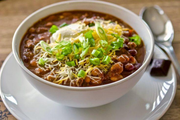 Chocolate Chipotle Chili Soup