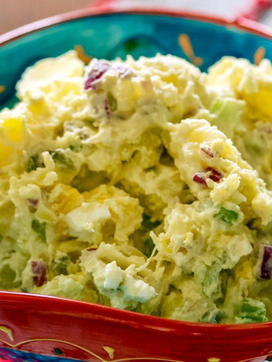 Delicious Easy Potato Salad1 1