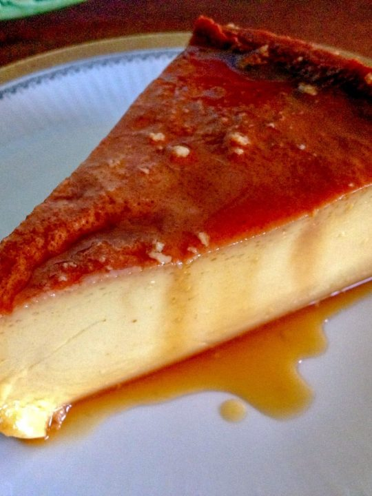 Flan De Queso Cream Cheese Flan 1
